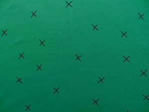 green forest chat Chat chocolat  fabrics menu home fabric collections lookbooks  chat chocolat – we're all stars – forest green jersey – 94% cotton, 6 % elasthan, 160 .