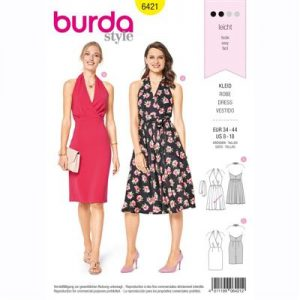 burdapatroon 6421 jurk
