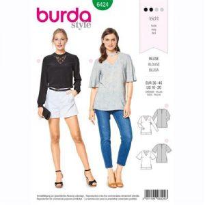 burdapatroon 6424 blouse