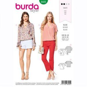 burdapatroon 6425 blouse