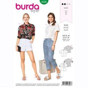 burdapatroon 6426 blouse