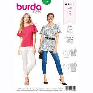 burdapatroon 6429 shirt