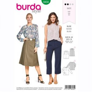 burdapatroon 6434 blouse