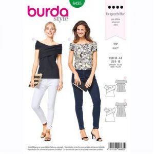 burdapatroon 6435 top