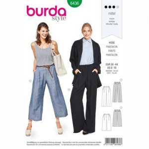burdapatroon 6436 pantalon