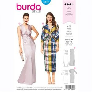 burdapatroon 6442 jurk