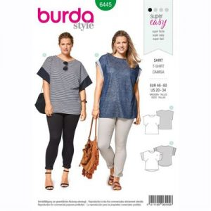 burdapatroon 6445 shirt