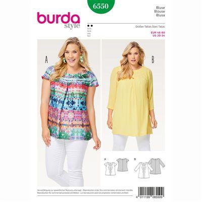 burdapatroon 6550 blouse