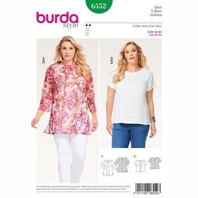 burdapatroon 6552 shirt