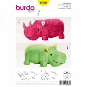 burdapatroon 6560 knuffeldier