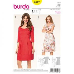 burdapatroon 6577 jurk