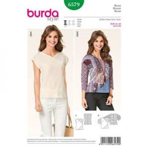 burdapatroon 6579 blouse