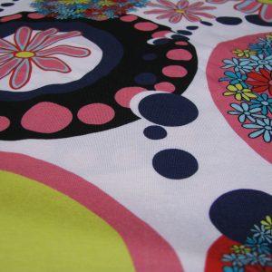 tricot bloem cirkel Editex