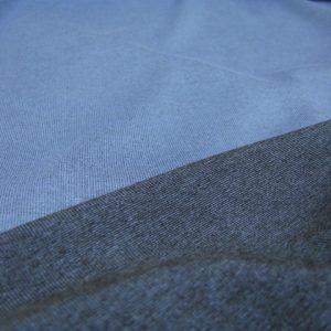 dubbelface tricot blauw Editex