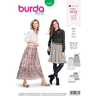 Burdapatroon 6357 rok