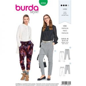 Burdapatroon 6358 pantalon