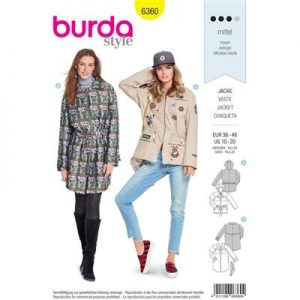 Burdapatroon 6360 jas