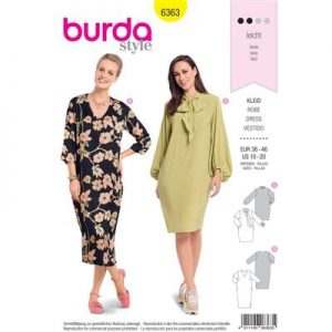 Burdapatroon 6363 jurk