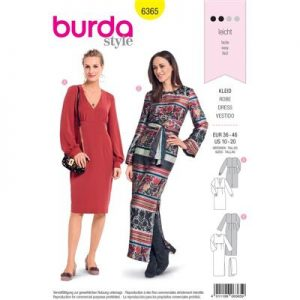 Burdapatroon 6365 jurk