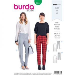 Burdapatroon 6377 pantalon