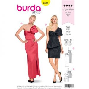 Burdapatroon 6388 jurk