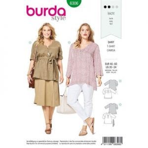 Burdapatroon 6306 shirt