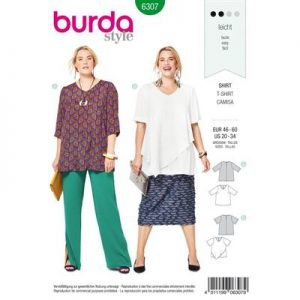 Burdapatroon 6307 shirt