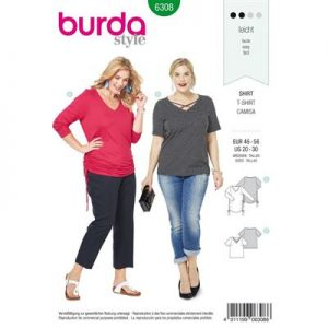 Burdapatroon 6308 shirt