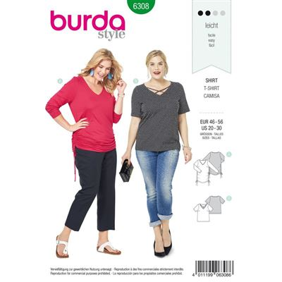 Burdapatroon 6308 shirt