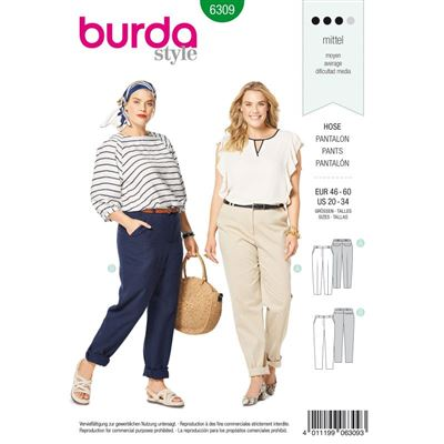 Burdapatroon 6309 pantalon