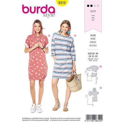 Burdapatroon 6310 jurk