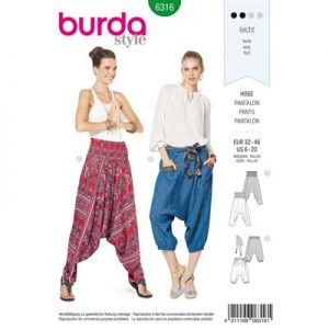 Burdapatroon 6316 pantalon