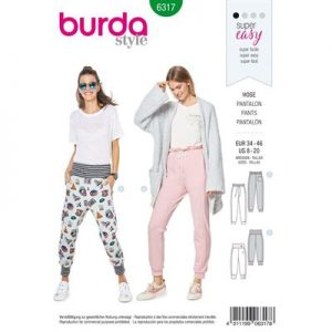 Burdapatroon 6317 pantalon