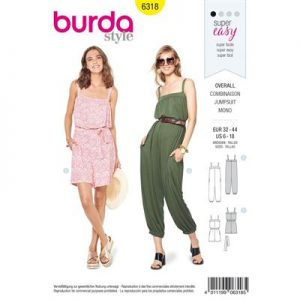 Burdapatroon 6318 jumpsuit