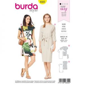 Burdapatroon 6322 jurk