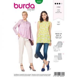 Burdapatroon 6323 blouse