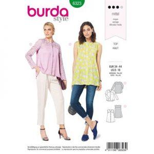 Burdapatroon 6323 blouse