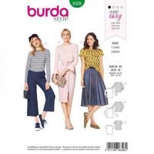 Burdapatroon 6328 shirt