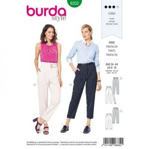 Burdapatroon 6332 pantalon