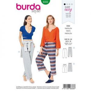 Burdapatroon 6333 pantalon