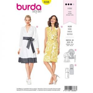 Burdapatroon 6338 jurk