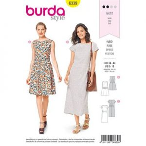 Burdapatroon 6339 jurk