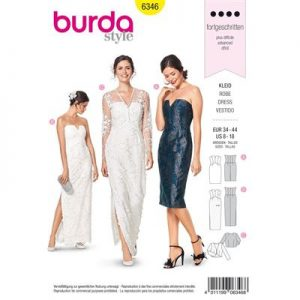 Burdapatroon 6346 jurk en jasje