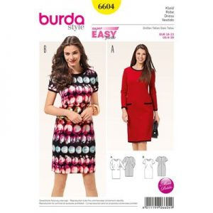Burdapatroon 6604 jurk