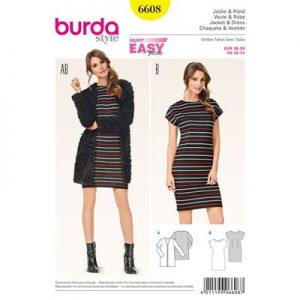 Burdapatroon 6608 jurk en vest