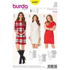 Burdapatroon 6609 jurk