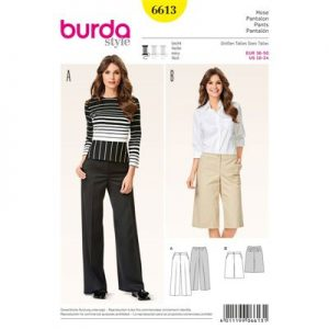 Burdapatroon 6613 pantalon