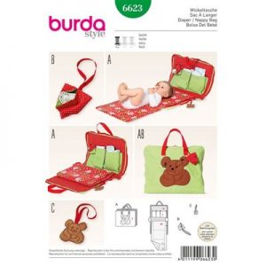 Burdapatroon 6623 luiertas
