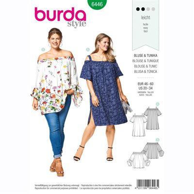 burdapatroon 6446 shirt