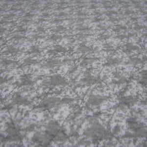 gestepte sweaterstof grijs Editex